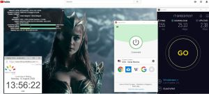 Windows10 ExpressVPN IKEv2协议 USA - Santa Monica 中国VPN 翻墙 科学上网 翻墙速度测试 - 20200810