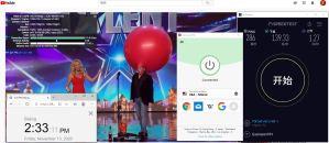 Windows10 ExpressVPN IKEv2 USA - Miami 服务器 中国VPN 翻墙 科学上网 测试 - 20201113