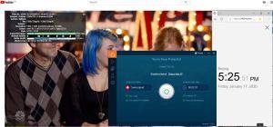 Windows10 IvacyVPN Switerzland 中国VPN翻墙 科学上网 Youtube测速 - 20200117