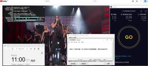 Windows10 NordVPN Open VPN GUI jp2118 中国VPN 翻墙 科学上网 翻墙速度测试 - 20200807
