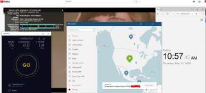Windows10 NordVPN USA #7144 中国VPN 翻墙 科学上网 youtube测速-20200514
