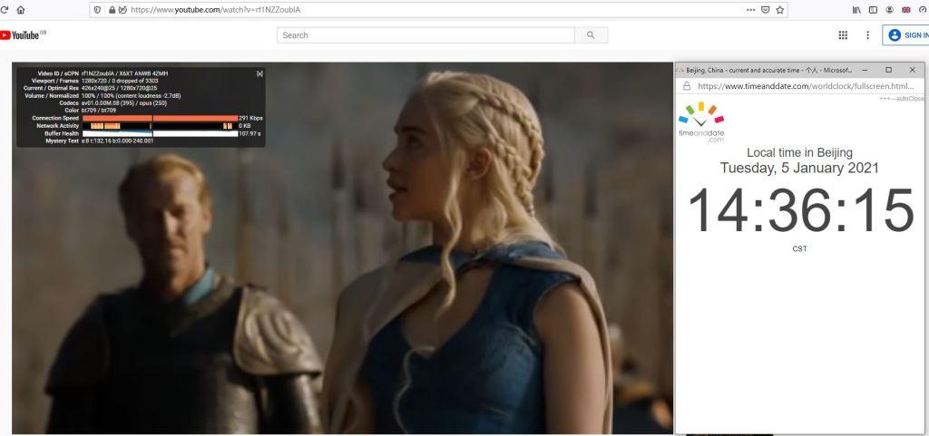 Windows10 PureVPN Firefox浏览器扩展插件 UK 服务器 中国VPN 翻墙 科学上网 10Beasts Barry测试 - 20210105
