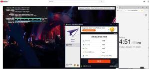 Windows10 PureVPN Hong Kong 中国VPN翻墙 科学上网 Youtube测速 - 20200117