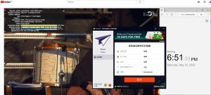 Windows10 PureVPN Netherlands 中国VPN 翻墙 科学上网 youtube测速-20200523