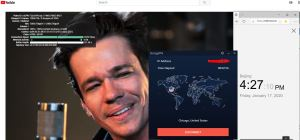 Windows10 StrongVPN USA - Chicago 中国VPN翻墙 科学上网 Youtube测速 - 20200117