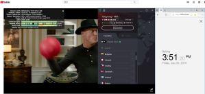 protonVPN Windows 中国翻墙 科学上网 hk-1服务器节点-YouTube-20190726