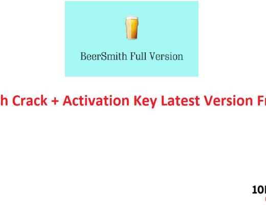 BeerSmith Crack + Activation Key Latest Version Free