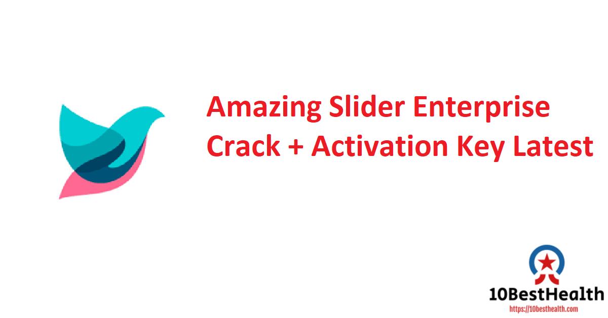 Amazing Slider Enterprise Crack + Activation Key Latest