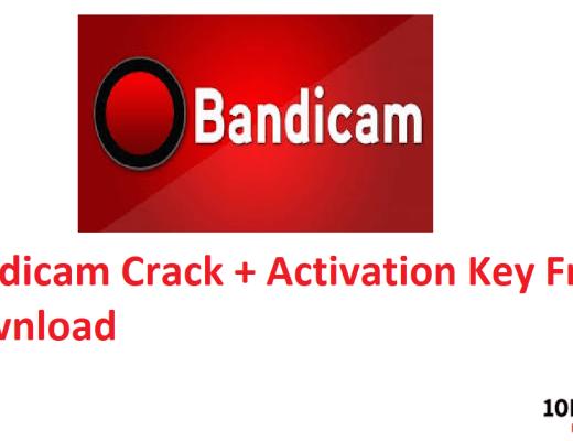 Bandicam Crack + Activation Key Free Download