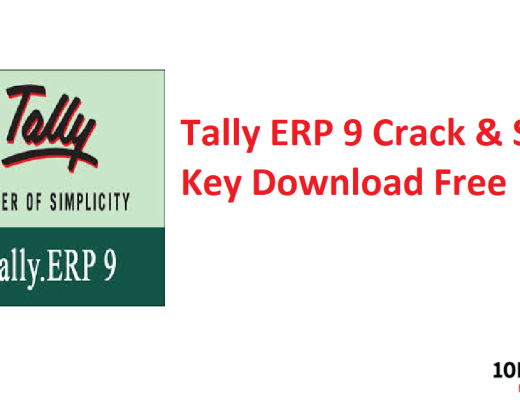Tally ERP 9 Crack & Serial Key Download Free