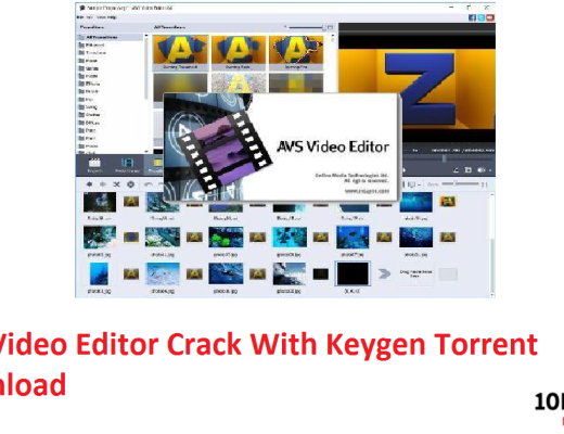 AVS Video Editor Crack With Keygen Torrent Download