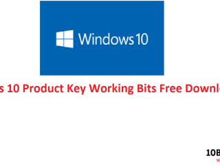 Windows 10 Product Key Working Bits Free Download Version