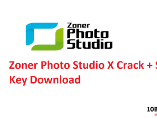 Zoner Photo Studio X Crack + Serial Key Download