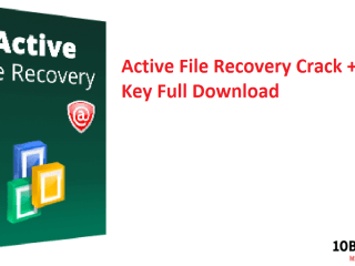 Active File Recovery Crack + Serial Key Full Download