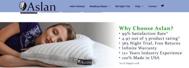 Aslan Mattress Review 2019 2