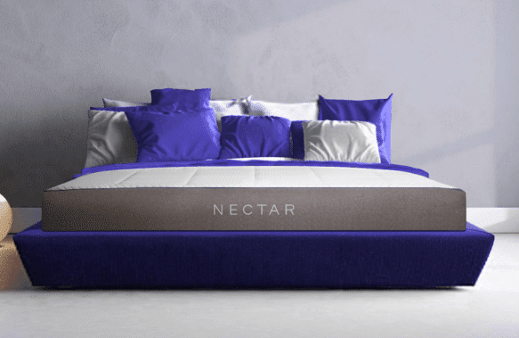 Nectar Mattress in a bedroom