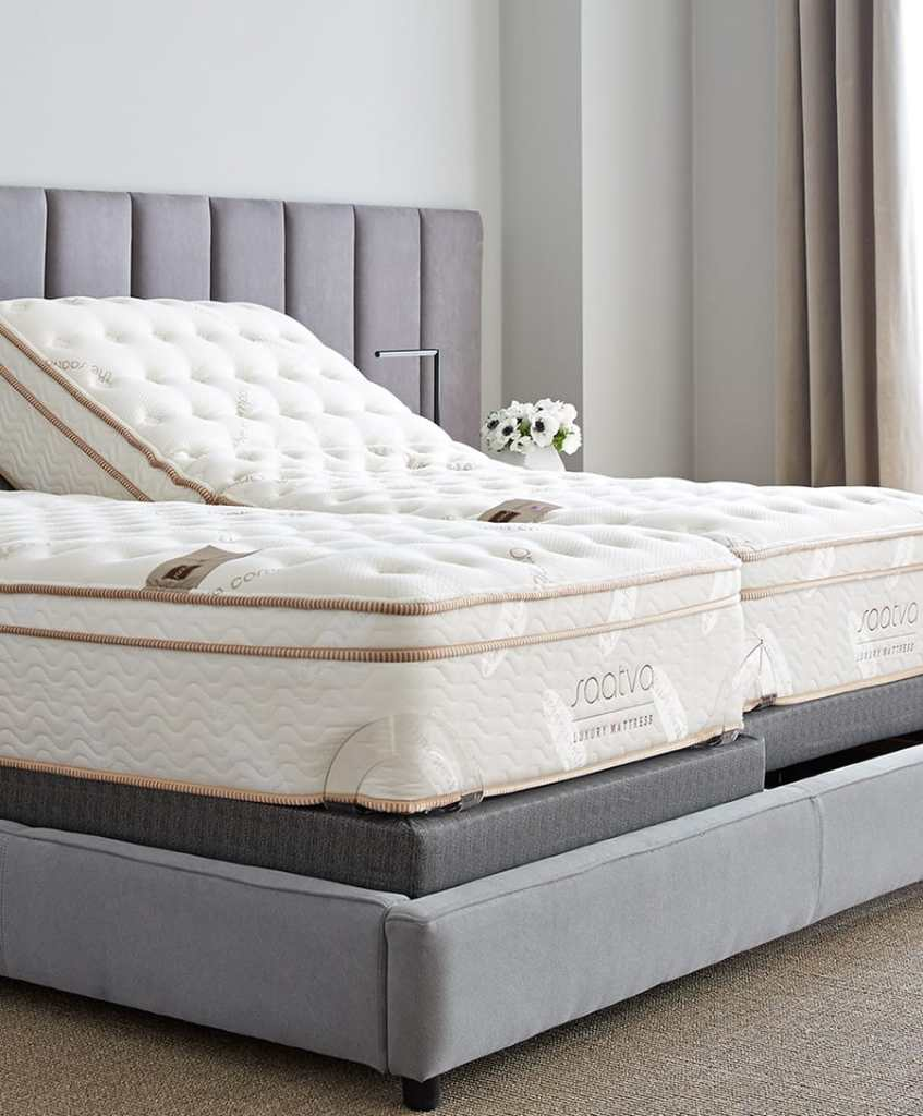 Saatva adjustable split beds