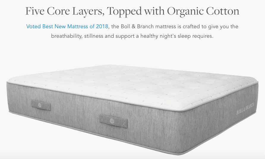 Mattress by Boll and Branch
