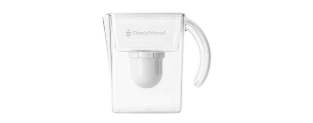 Clearly Filtered Water Pitcher gone Lifetime Warranty Guaranteed to Remove Fluoride