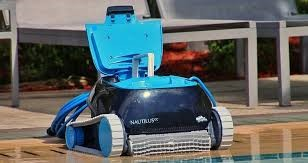 Dolphin Nautilus CC then Automatic Robotic Pool Cleaner