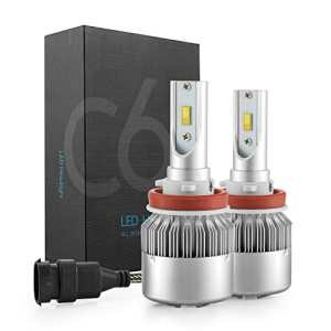 Simdevanma LED Automobile Headlight Bulbs All-in-One Conversion kit