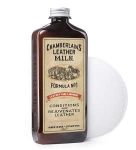 Chamberlain's Leather Milk Leather Conditioner and Cleaner review