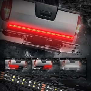 MICTUNING 60 Inch 2-Row LED Truck Tailgate Light review