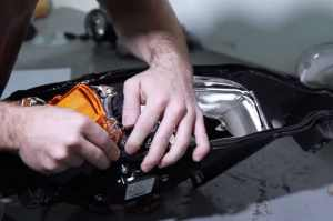 How to Reseal Headlights - Preparing the Sealant