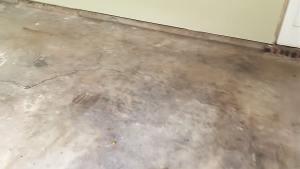 Paint average garage floor