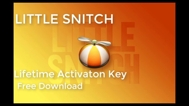 Little Snitch 2020 Torrent For PC