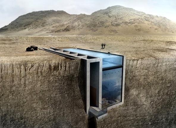 Ένα σπίτι μέσα σε βράχο