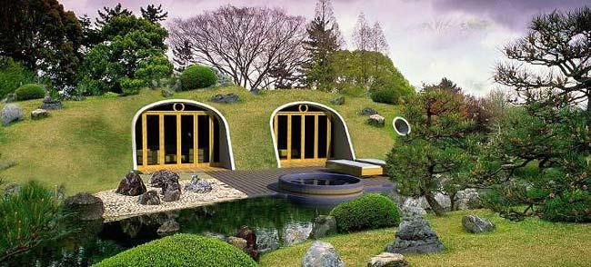 Κατασκευάστε το σπίτι σας σε 3 μέρες και ζήστε σαν Hobbit