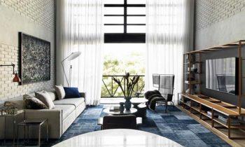 Βιομηχανικό Design σε διώροφη κατοικία (Industrial Design)