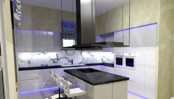 Φωτισμός πάγκου κουζίνας