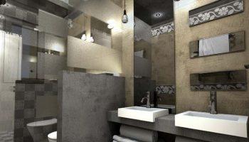 Όλα τα είδη φωτισμού σε ένα μπάνιο