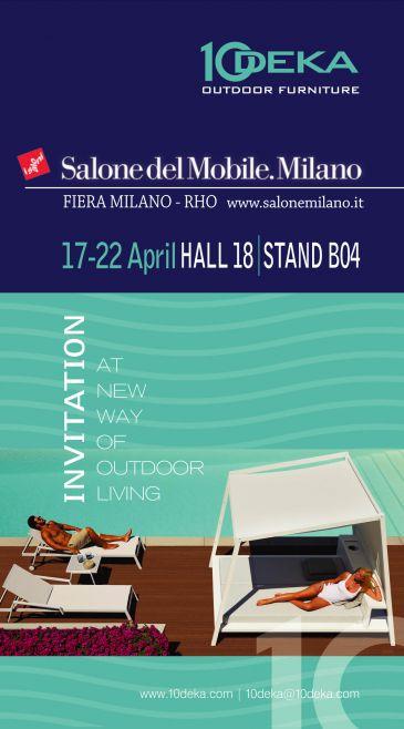 Salone Del Mobile Milano April 2018