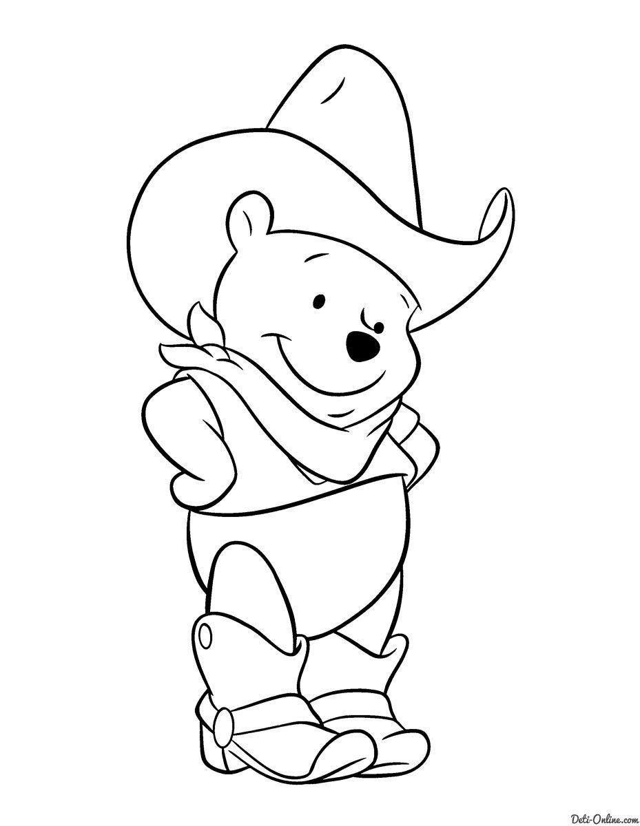 Colorear dibujos de winnie pooh gratis