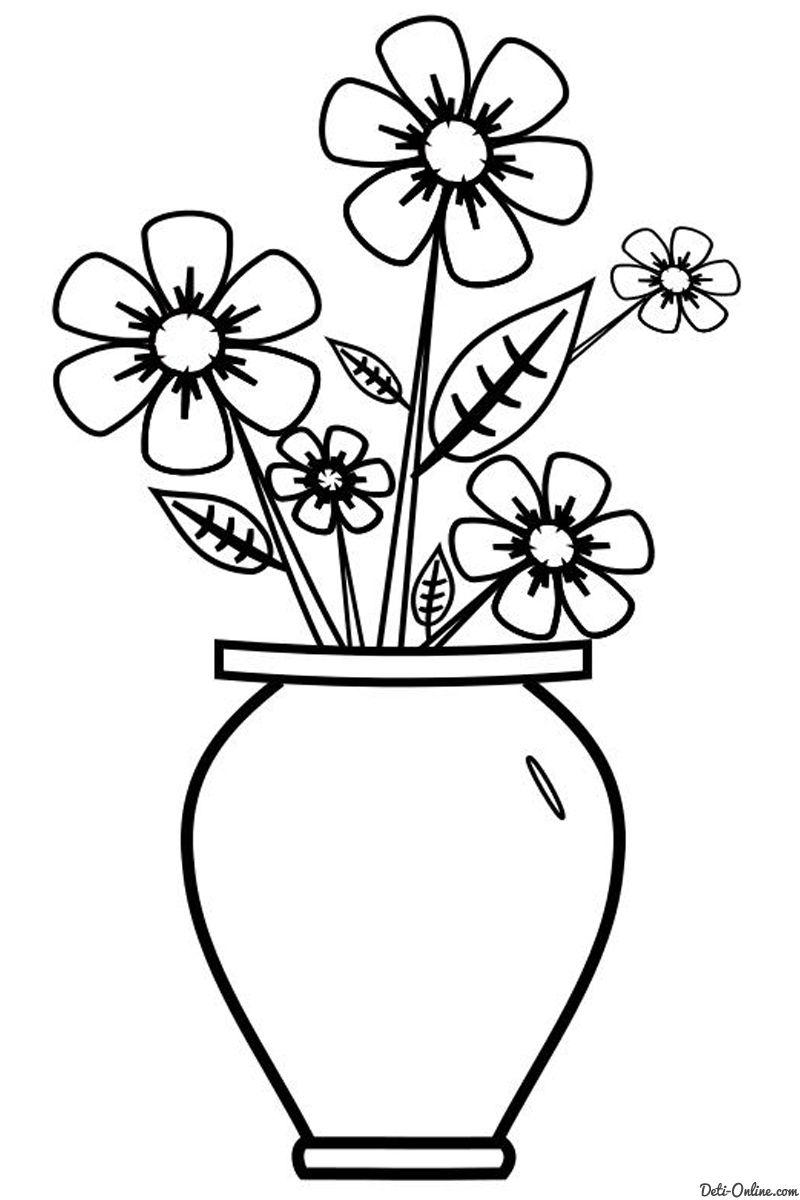 Dibujos De Flores Hermosas Para Colorear