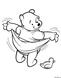 Dibujos para colorear de winnie pooh para imprimir