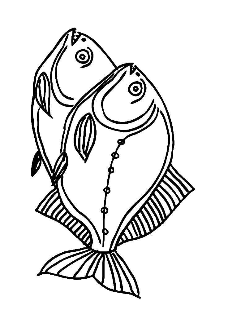 Dibujos de peces grandes para colorear