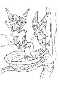 Dibujos Sin Colorear Dibujos De Hadas Para Colorear