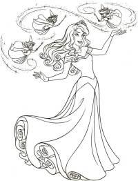 Parte Superior Dibujos Bella Durmiente Para Colorear E ...