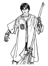 9 Dibujos de Harry Potter para colorear