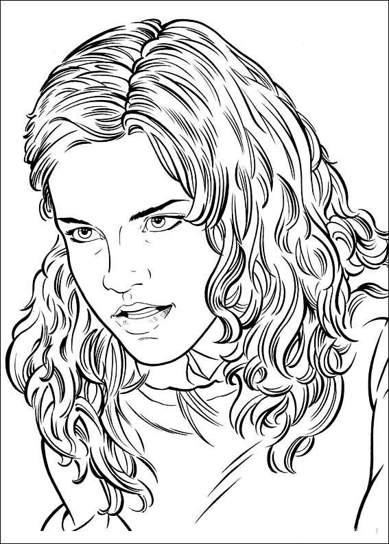 dibujos para colorear de hermione jean granger