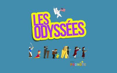 (Français) Les Odyssées, France Inter | 7-12 ans