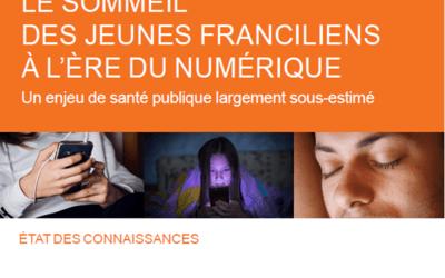"""(Français) Sommeil des ados : l'ORS Ile de France préconise """"une semaine sans écran"""""""