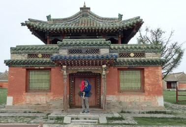 Temple mongole