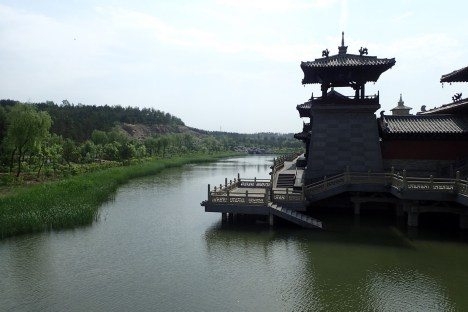 Le temple du site
