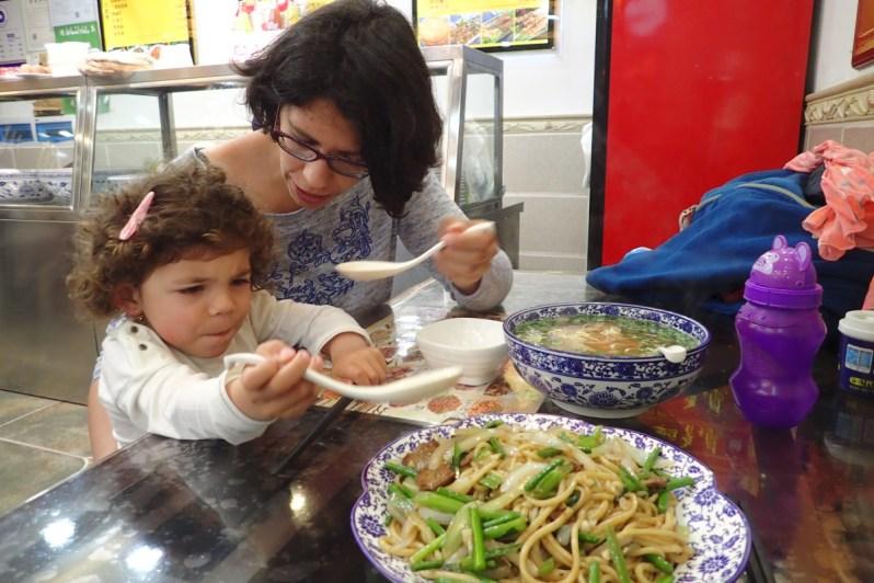 1er repas chinois
