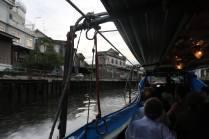Speed boat sur les canaux de Bangkok
